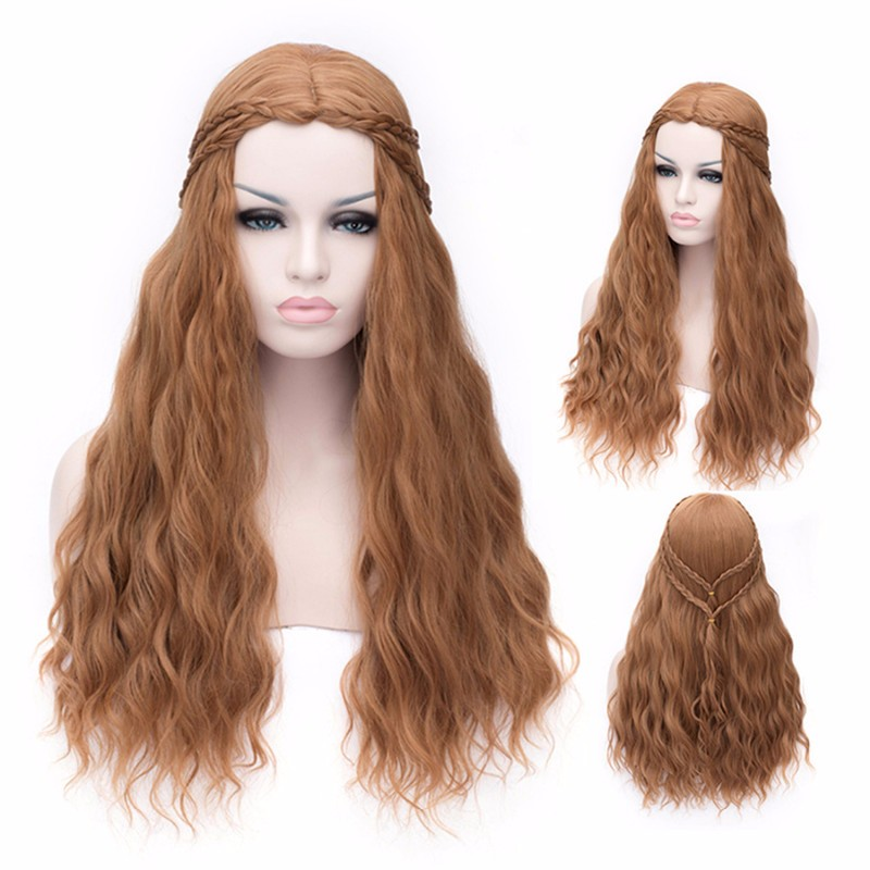 Game of Thrones Cersei Wig,cosplay daenerys targaryen wig