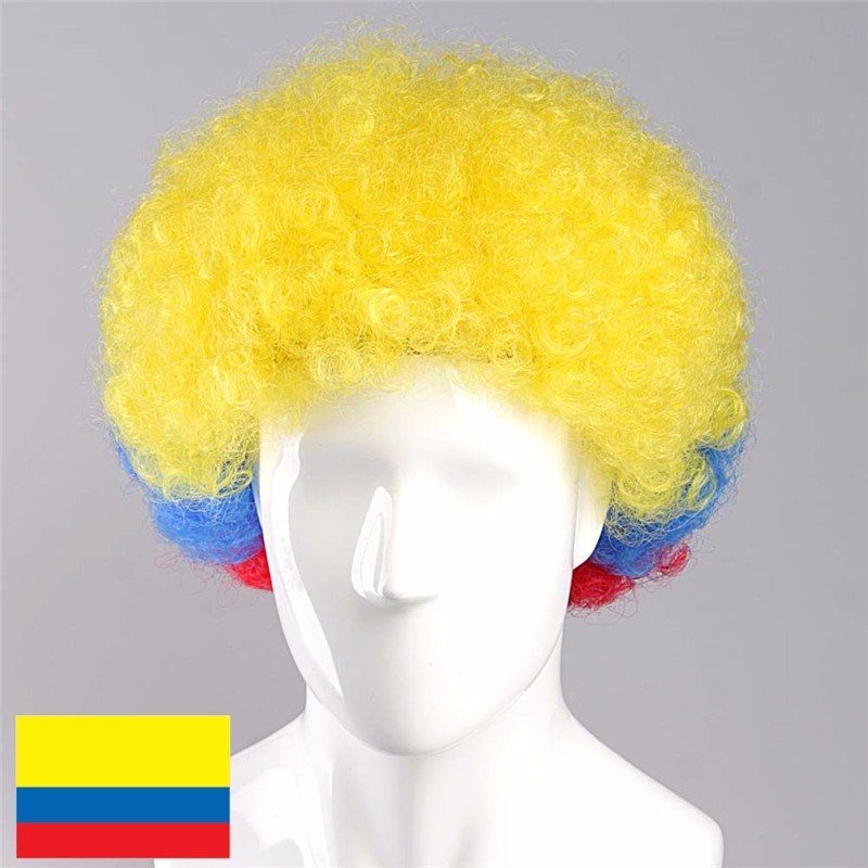 Colombia Afro Wig Fans Wig