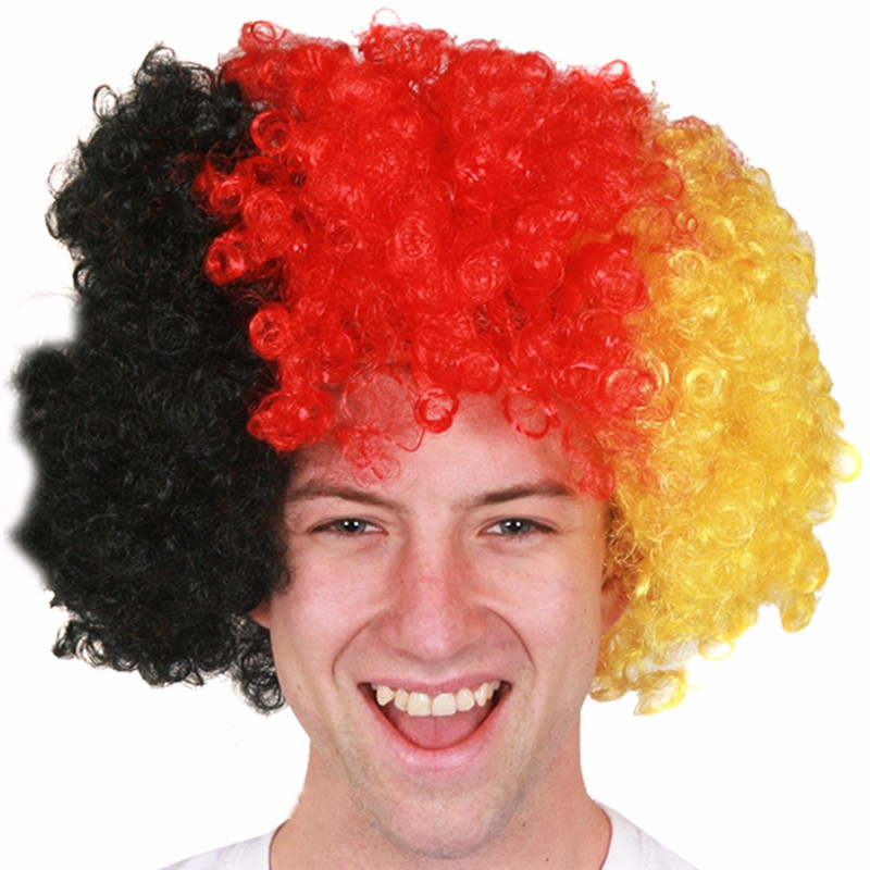 SUPPORTERS GERMAN AFRO WIG