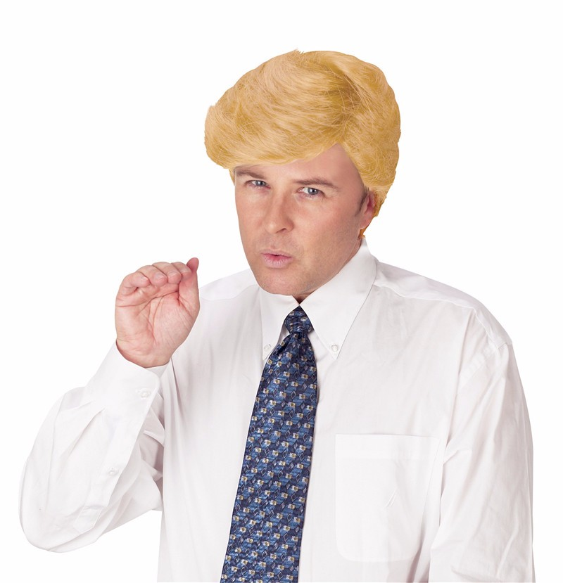 comb over candidate Billionaire wig