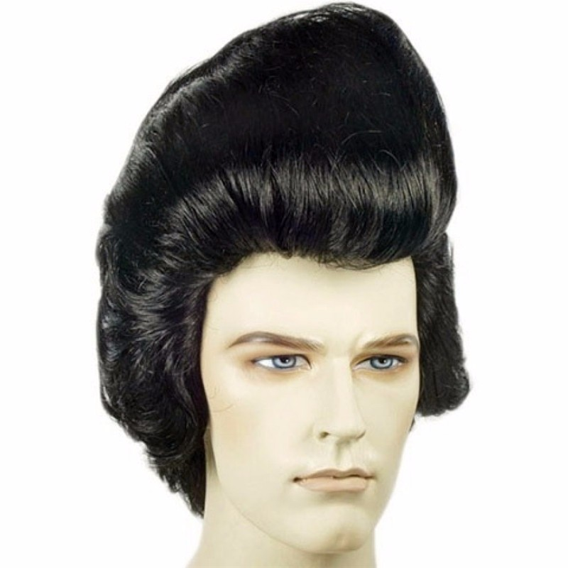 80s rocker star classic Gigantic Elvis Wig