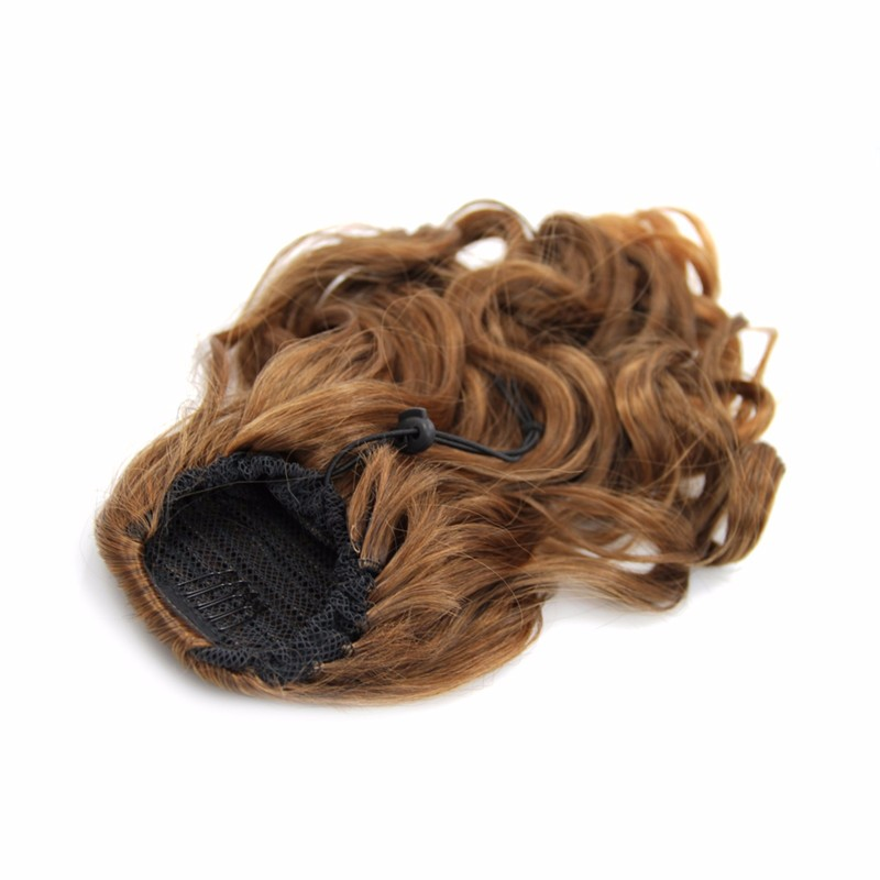 Natural looking Drawstring Ponytail Themal Fibre