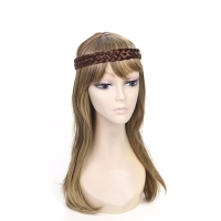 Bohemian style braid head wear band