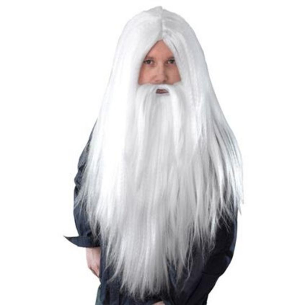 Gandalf wig,santa wig and beard set