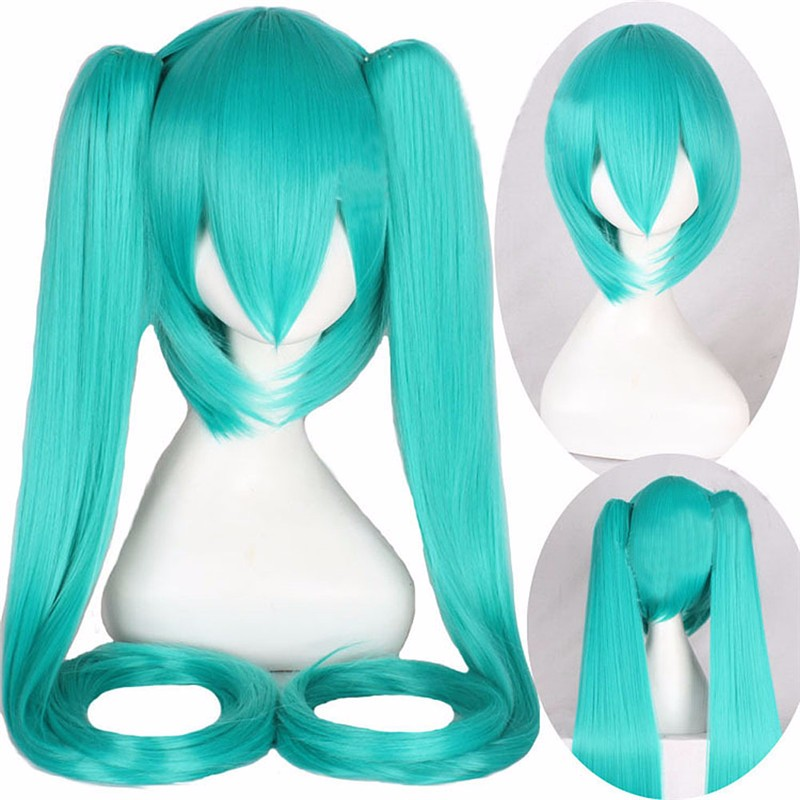New high quality Wig Wholesale Cosplay wig anime COS Miku Hatsune Wig